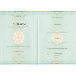 Диплом о профессиональной переподготовке 2013-2019